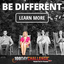 Be Different - 100 Day Challenge