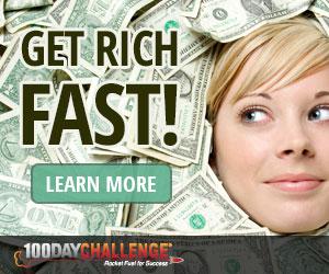 Get Rich Fast - 100 Day Challenge